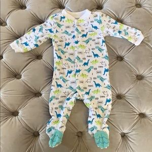 Carter's Dino Footed Pajama - 3-6 months